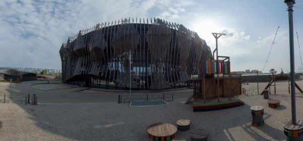 Der Showpalast München von außen