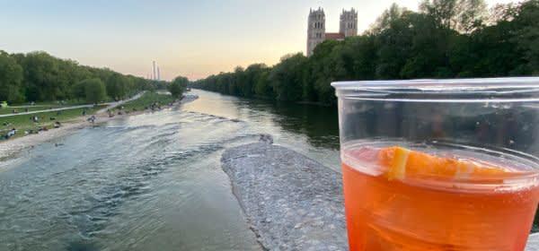 Alkoholverbot in München an der Reichenbachbrücke