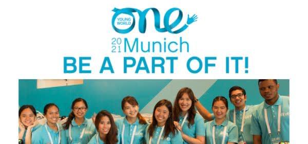 Volunteers für One Young World