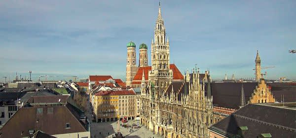 Webcam am Marienplatz