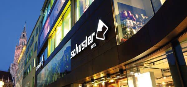 Das Sporthaus Schuster in München