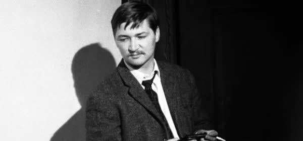 Der Regisseur Rainer Werner Fassbinder.