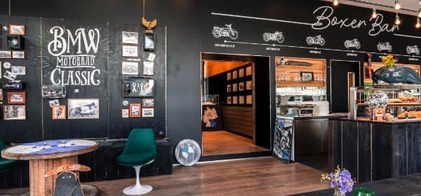 Die neue Boxer Bar in der BMW Group Classic