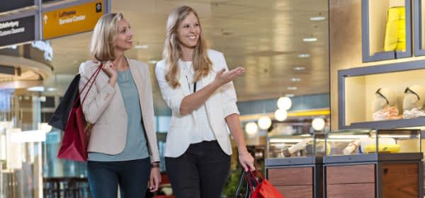 Shopping am Flughafen München