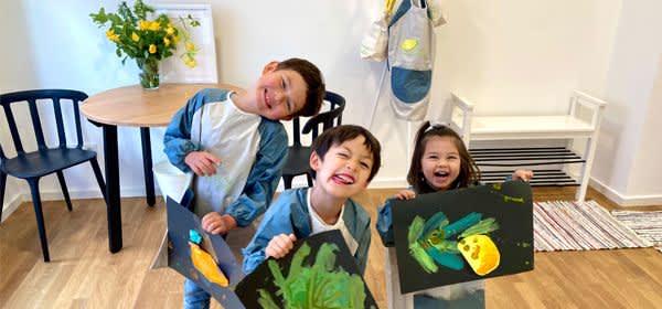 """Kinder in der Kinderbetreuung """"Lemon Tree"""""""