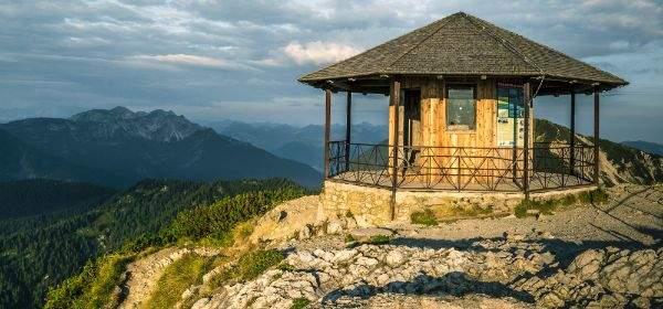 Herzogstand in den Bayerischen Voralpen