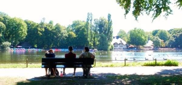 Kleinhesseloher See Englischer Garten