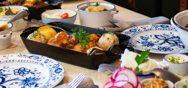 Essen im bayerischen Wirtshaus