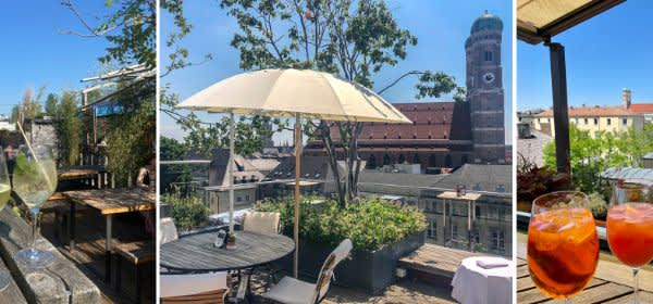 Rooftop Bars in München