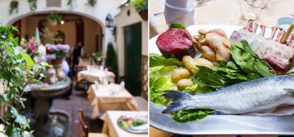 Bars zum draußen sitzen: Osteria Italiana