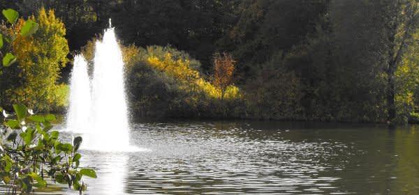 Ostpark im Herbst