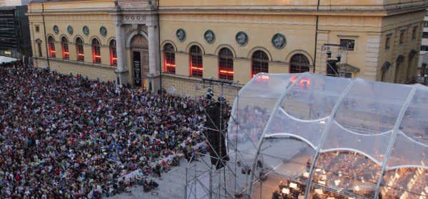 Festspielkonzert am Marstallplatz