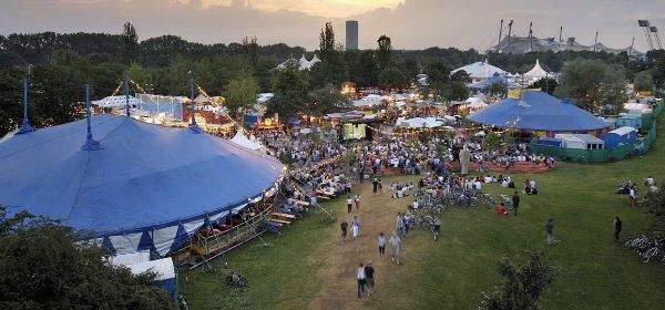Tollwood-Festival im Sommer
