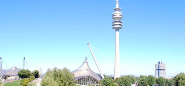 Der Olympiaturm im Olympiapark