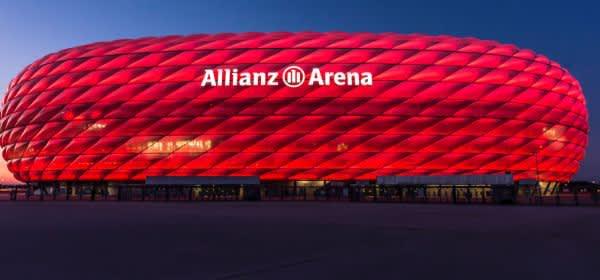 Die Allianz Arena des FC Bayern München