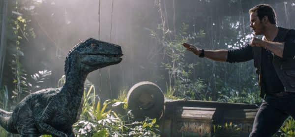 """Szene aus dem Film """"Jurassic World: Das gefallene Königreich"""""""