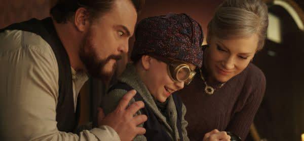 """Szene aus dem Film """"Das Haus der geheimnisvollen Uhren"""""""