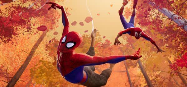 "Szene aus dem Film ""Spider-Man: A New Universe"""