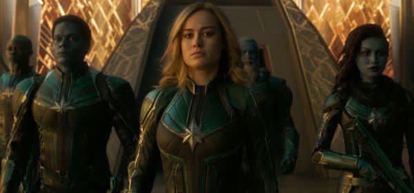 """Szene aus dem Film """"Captain Marvel"""""""