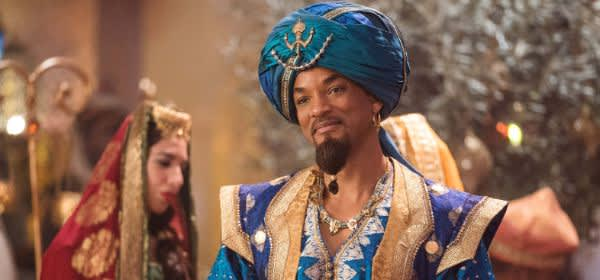 "Szene aus dem Film ""Aladdin"""