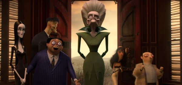 "Szene aus dem Film ""The Addams Family"""