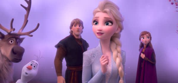 "Szene aus dem Film ""Frozen 2"""