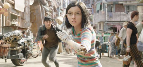 "Filmszene aus ""Alita: Battle Angel"""