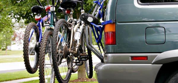 Auto mit Fahrrädern