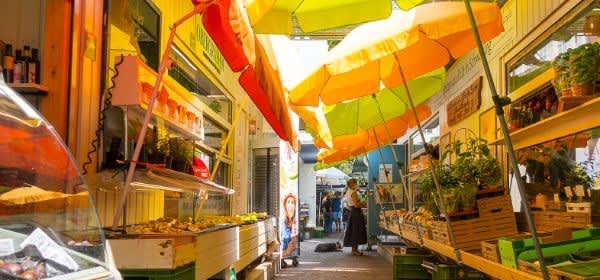 Sommer auf dem Elisabethmarkt