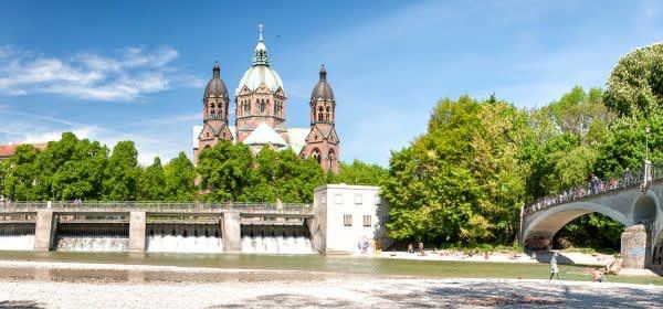 St Lukas an der Isar