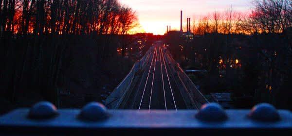 Bahngleise in Giesing