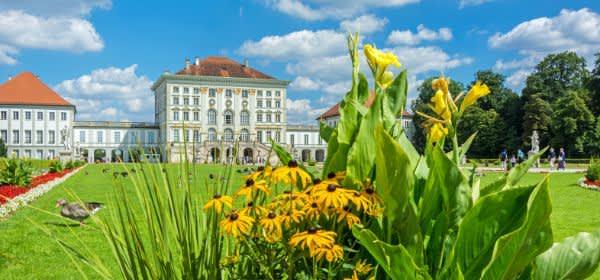 Nymphenburger Schloss im Sommer