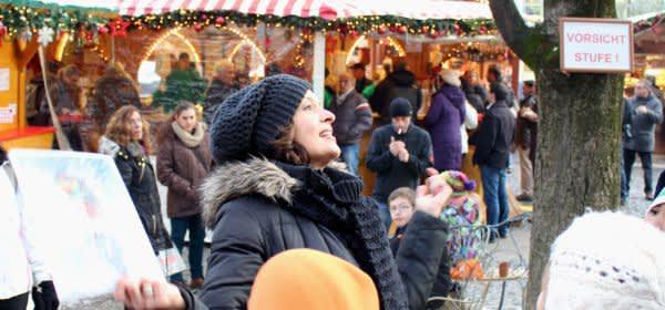Weihnachtliche Stadtführung am Rindermarkt