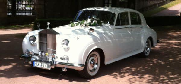 Rolls Royce im Schatten