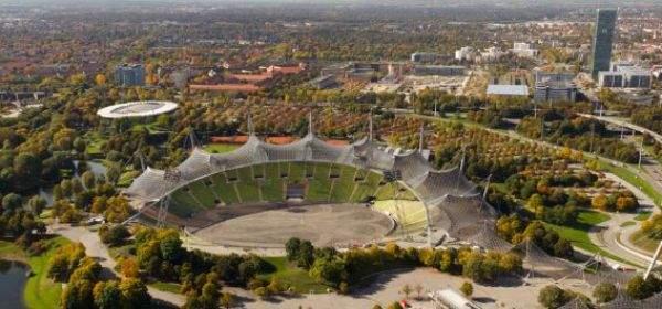 Aussicht Olympiaturm Stadion