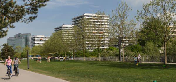 Der Petuelpark im Frühling