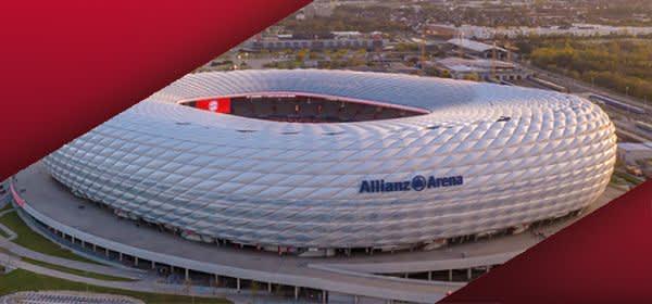 Allianz Arena von oben