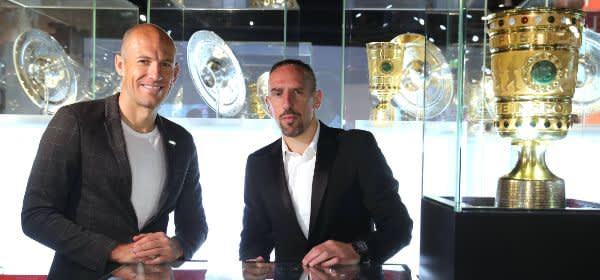 Arjen Robben und Franck Ribbéry