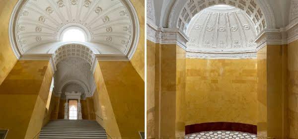Gelbe Treppe in der Residenz München
