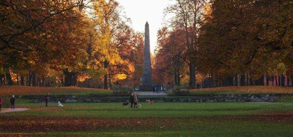 Obelisk im Luitpoldpark