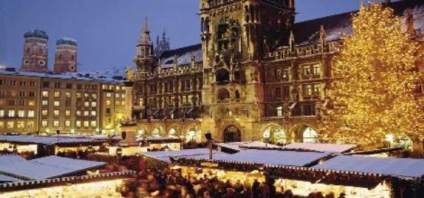 Munich Germany Christmas.Munich Christmas Market
