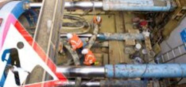 Kanalbaustelle