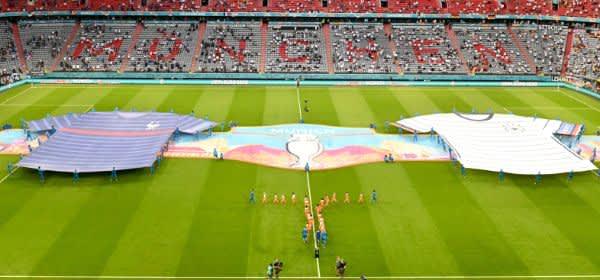 EM-Gruppenspiel in München zwischen Frankreich und Deutschland
