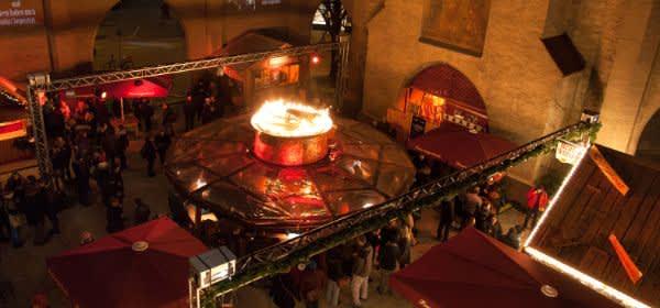 Feuerzangenbowle im Isartor