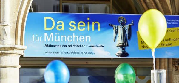 Aktionstag Da Sein für München