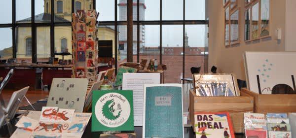Impressionen zum Literaturfest in München.