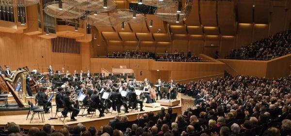 Die Münchner Philharmoniker spielen in der Philharmonie des Gasteigs