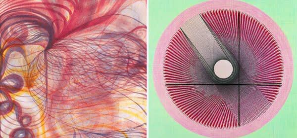 """Collage zweier Werke aus """"Weltempfänger"""""""