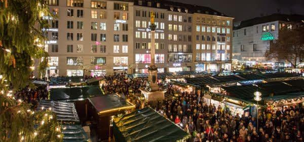Christkindlmarkt Eröffnung am Marienplatz 2018