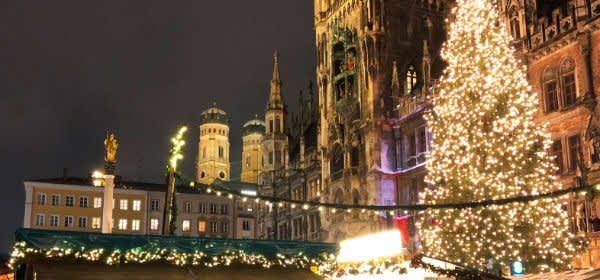 Eröffnung des Münchner Christkindlmarkts 2018